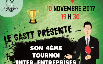 Le Tournoi Inter-Entreprises 2017 de Saint Avertin