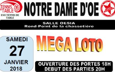 Méga Loto à Notre Dame d'Oé