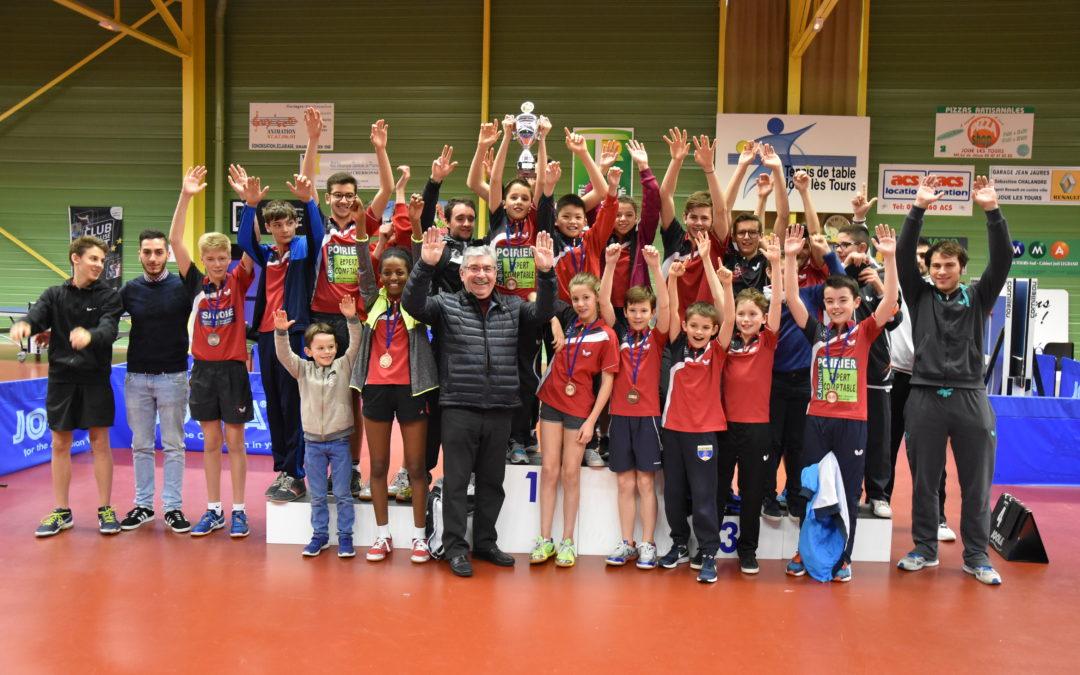 Challenge Interclubs Jeunes à Joué lès Tours
