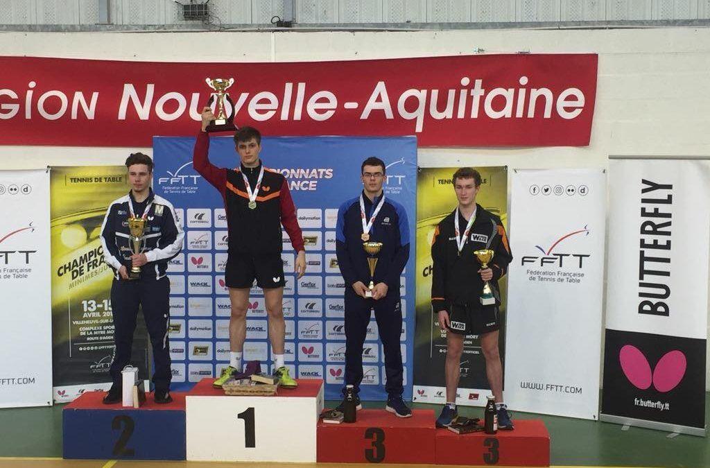Lilian Bardet Champion de France Juniors 2018
