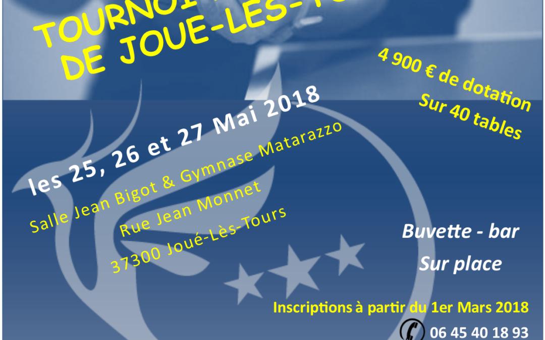 Tournoi National B de Joué lès Tours