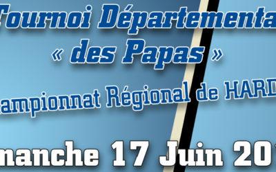 Championnat régional de Hardbat et Tournoi départemental à Veigné