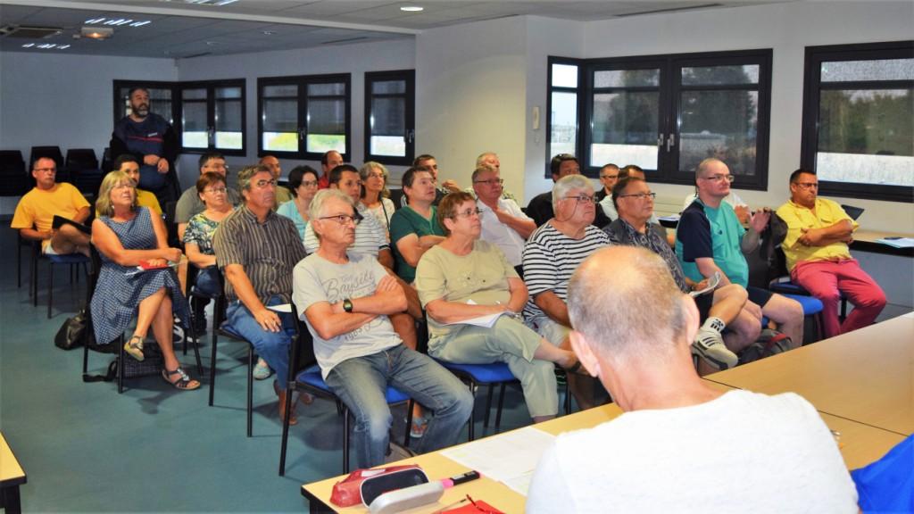 Réunion d'arbitrage 1ère Phase 2018-2019