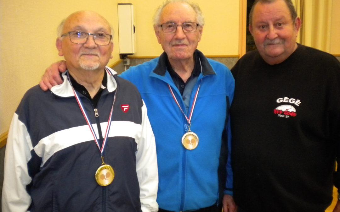 Finales départementales du Critérium vétéran à Parcay-Meslay