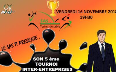 Tournoi inter-entreprises à Saint Avertin