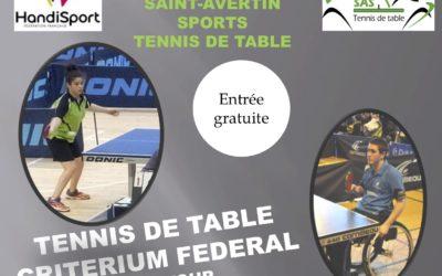 2ème tour de critérium fédéral handisport à Saint Avertin