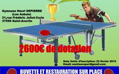 Tournoi National B de Saint Avertin