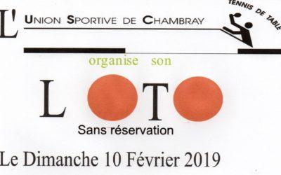 Un Loto sans réservation à Chambray-lès-Tours