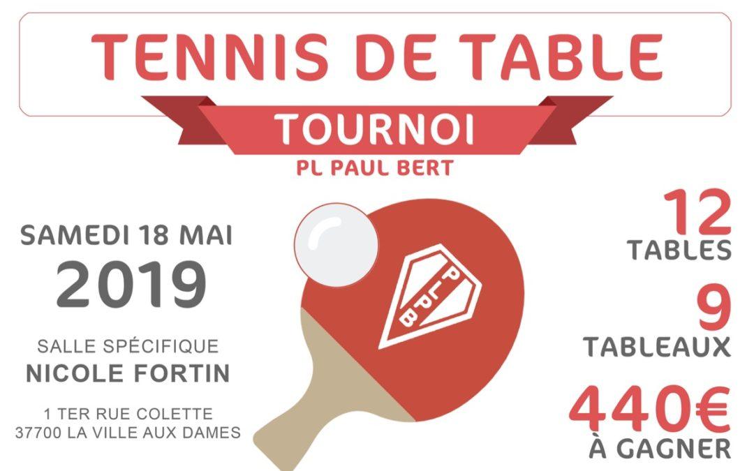 Le club PL Paul Bert organise son tournoi à La Ville aux Dames