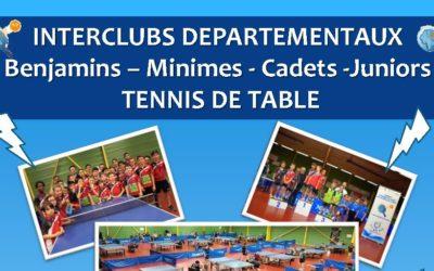 Interclubs départementaux 2019