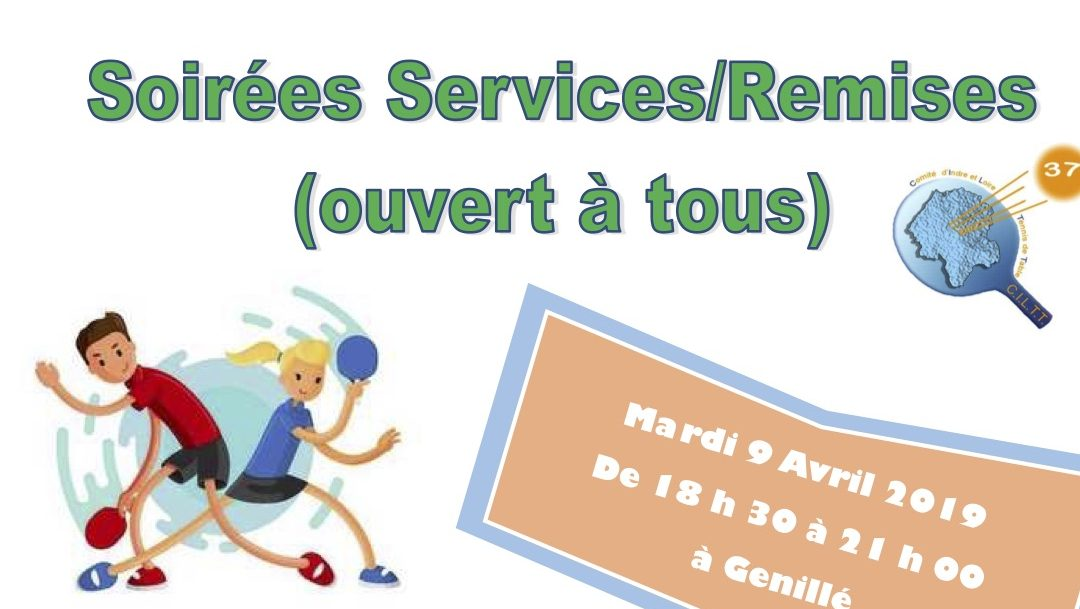Stages de Printemps «Service/Remise» ouverts à tous