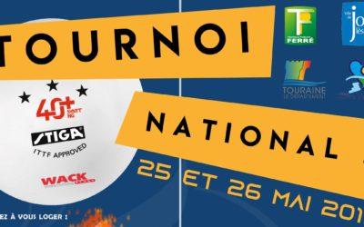 Le Tournoi National B de Joué-lès-Tours