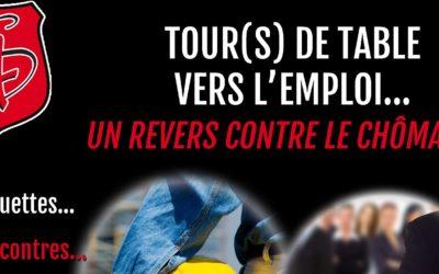 Tour(s) de Table vers l'Emploi à la 4S Tours
