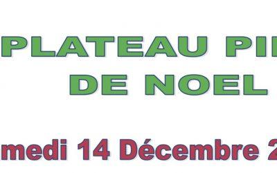 Plateaux Ping de Noël Nord et Sud