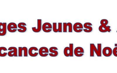 Stages de Noël Jeunes et Adultes
