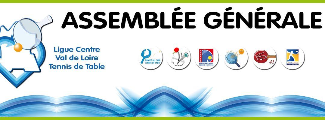 Assemblée Générale de la Ligue Centre Val de Loire Samedi 26 Septembre