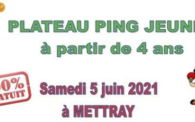 Plateau Ping Jeunes à Mettray